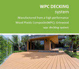 Decking de WPC para o revestimento ao ar livre