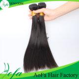 Cabelo brasileiro de venda quente desenhado dobro do Virgin da extensão do cabelo humano