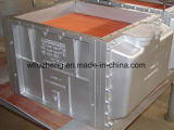 Refroidisseur d'air marin d'engine d'acier du carbone, échangeur de chaleur de moteur diesel d'acier allié