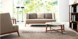 최신 판매 침실 가구 백색 직물 현대 작풍 침대 (MB1203)