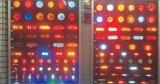 """Arresto del LED 4 """"/girata/indicatore luminoso rotondi della coda"""