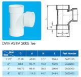 Standard uguale del T ASTM D2665 del PVC per l'acqua dello scolo di Dwv con il certificato del NSF