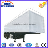 Rimorchio pratico della casella inclusa di figura dei furgoni dell'elemento portante del carico/carbone degli Tri-Assi di prezzi di fabbrica da vendere