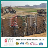 Geotextile 피복으로 덮는 군 요새를 위한 Hesco 방벽