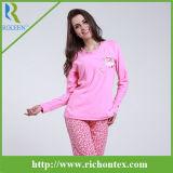 Микро- приполюсные женщины Sleepwear ватки, пижамы женщин, Pyjamas