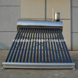 Pression non intégrée en acier inoxydable Chauffe-eau solaire