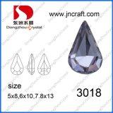 Elemento de piedra de lujo cristalino de la gota del agua Dz-3018 para la fabricación de la joyería