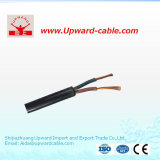 Aislamiento de PVC &enfundado el cable al cable eléctrico/eléctrico flexible