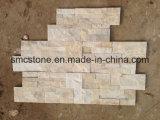 18*35cm 최신 판매 중국 자연적인 P014 슬레이트에 의하여 겹쳐 쌓이는 문화 돌