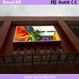 P6 SMD LED Exterior vallas de publicidad de vídeo con fines comerciales.