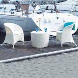 Mobilia del rattan del PE del tè e della Tabella pranzante e del giardino