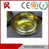 防水キャッツ・アイのガラス白い反射鏡のガラス玉の道のスタッド