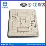 En124 SGS는 합성 주물 사각 또는 둥근 맨홀 뚜껑을 통과했다