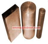 Wcu hojas/Hoja de tungsteno cobre/ Hoja de disipador de calor/placa de tungsteno cobre