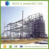 El edificio de la estructura de acero vertió el almacén prefabricado del marco de acero