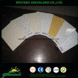 Azulejos de gesso laminados com vinil / Tetos de gesso Placas de teto / gesso de teto