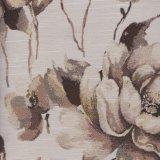 Polyester-Projekt gesponnenes Blumen-Entwurfs-Gewebe