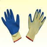 PU безопасности покрыл Nylon аттестованный Ce перчаток работы