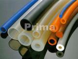 Tubulação da borracha de silicone com vário tipo produto comestível