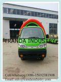 4개의 바퀴를 가진 전기 중국 이동할 수 있는 음식 트럭