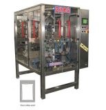 Automatische pakmachine met vier zijafdichtingen