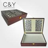 ピアノ終わりの贅沢なWooddenカスタムチョコレート包装ボックス