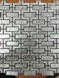 Lei/de Ceramic/Porcelain/Glass Getuimelde Marmeren Ideeën van Backsplash van de Tegels van het Mozaïek voor Verkoop