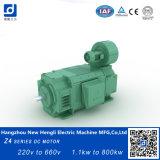 Nuevo Hengli Z4-250-42 160KW motor de cepillo DC 1000 rpm.
