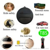 Mini perseguidor elegante do GPS para o carro/animal de estimação/bagagem/pessoa (T8S)