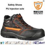 Горячие продавая кожаный ботинок и ботинки безопасности человека с сертификатом Ce