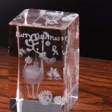 Varios diseños barata Cubo de cristal grabado el logotipo de OEM