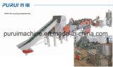 Pp filment réutiliser la machine à laver de production de la capacité 300kg/H