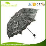 Изготовленный на заказ зонтик створки печати сублимации на солнечный день
