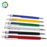 Papeterie en plastique bon marché de bureau de stylo à bille de bonne qualité pour le cadeau promotionnel
