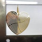 メーカー価格の光っているきらめく金の大きい中心のイヤリング