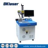20W de Laser die van de Vezel van het metaal Machine met Roterend Apparaat merken