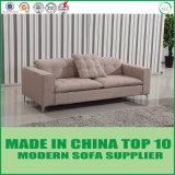 Sofá moderno del Nordic de los muebles de la sala de estar de la tela del ocio