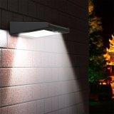 Indicatore luminoso alimentato solare senza fili esterno della parete di obbligazione del sensore di movimento di PIR