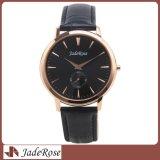 Bracelet en acier inoxydable Les hommes les montres à quartz, de promotion de montres, de regarder en cuir