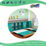 내각 (HG-6403)를 가진 벽에 나무로 되는 연장할 수 있는 학교 침대가 유치원에 의하여 농담을 한다