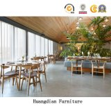 튼튼한 디자인 단단한 나무 의자 및 세트 (HD1106)를 식사하는 테이블 대중음식점 가구