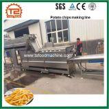 300/400kg/H de automatische Frieten die van de Chips van het Roestvrij staal Machine maken