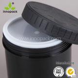 [هدب] سوداء [1ل] [هدب] زجاجة بلاستيكيّة مع سدادة غطاء