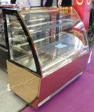 1.2m 광고 방송 자유로운 서 있는 유리제 현대 케이크 진열장 Priceglass 케이크 전시 내각