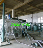 사용된 차 기름 재생 공장, 진공 폐기물 엔진 기름 치료 시스템 몸