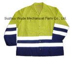 Uja004polyester 옥스포드 PVC/PU Non-Breathable/PU Breathable 외투 사려깊은 피복 Parka 비옷 Worksuit 재킷