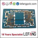 Carte à circuit de carte d'encre bleue pour l'électronique Displayer médical