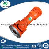 Eje de la junta universal SWC490A-3550 para la máquina del alambre del balanceo