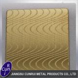 L'acido personalizzato dell'acciaio inossidabile ha inciso la piastrina per i materiali da costruzione