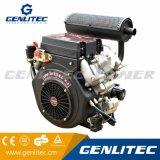 20HP motor diesel V-Gemelo refrescado aire del cilindro 870cc (DE2V870)